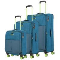 Travelite Proof Trolley-Set 3tlg S-M-L Petrol