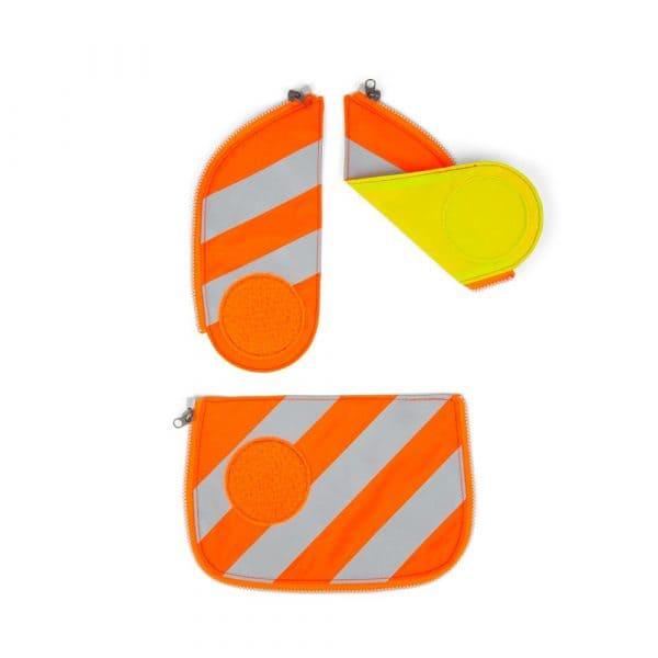 Ergobag Cubo Sicherheitsset mit Reflektorstreifen Orange