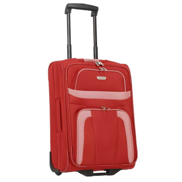 Travelite Orlando 2-Rollen Bordtrolley S 53 cm Rot