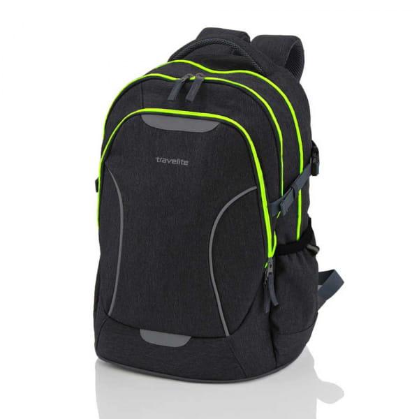 Travelite Basics Schulrucksack B-Ware Anthrazit-Neongrün