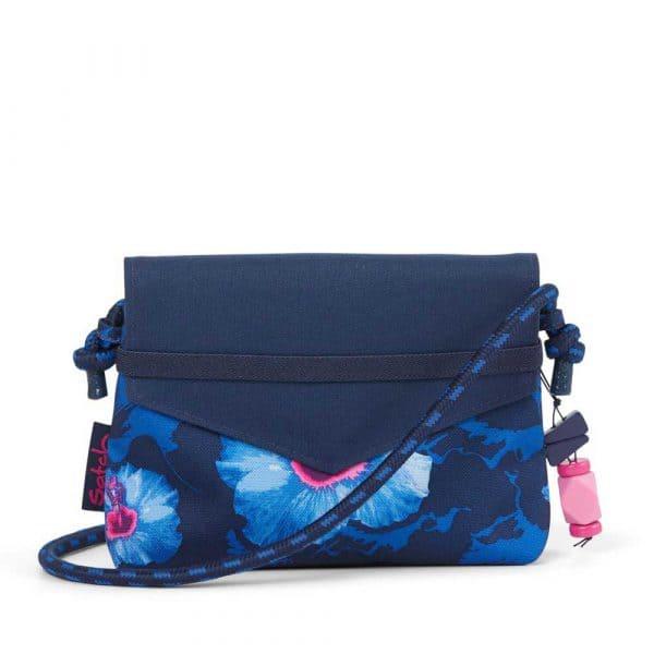 Satch Clutch Beauty Wallet Waikiki Blue