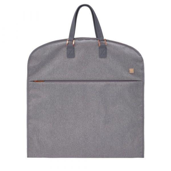 BARBARA & TITAN Kleidersack Grau