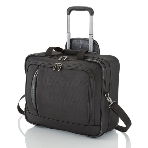 Travelite Crosslite Businesswheeler 47 cm Schwarz