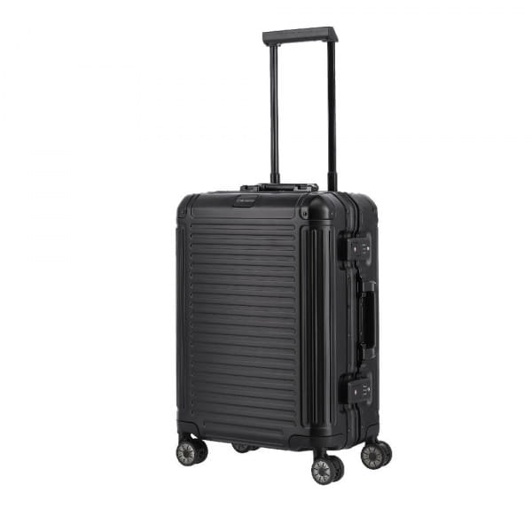 Travelite Next 4-Rollen Trolley S 55 cm Schwarz
