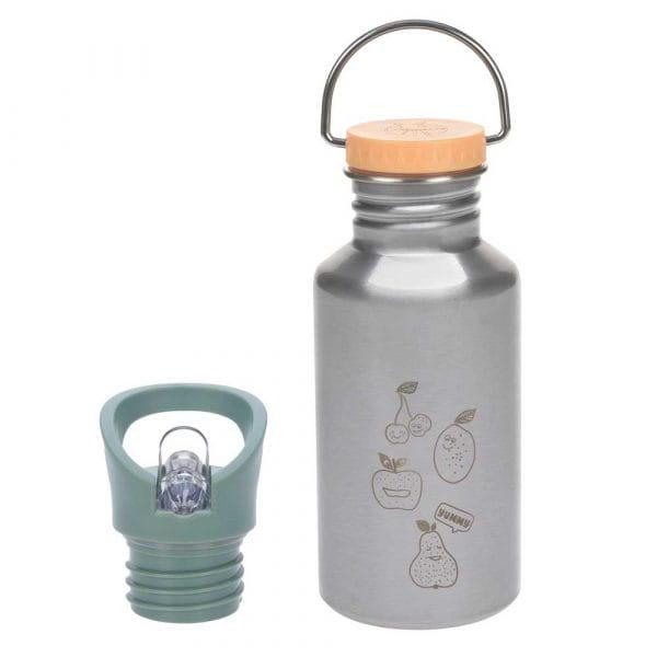 Lässig Edelstahl Trinkflasche 0,5 L Yummy