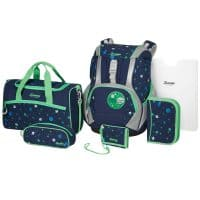 Sammies Ergofit 2.0 Schulranzen-Set 7tlg Space Glow