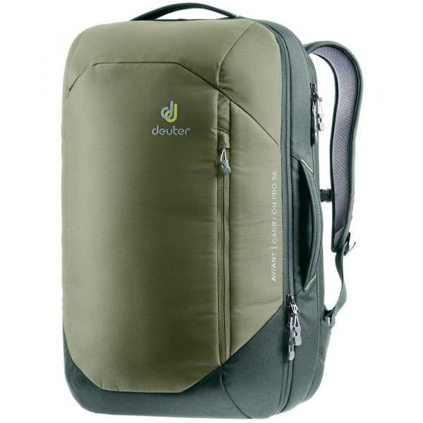 Deuter Aviant Carry On Pro 36 Rucksack Khaki-Ivy