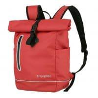 Travelite Basics Roll-Up Rucksack Rot