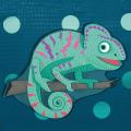 Tropical Chameleon