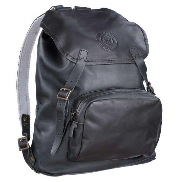 Beckmann Lederrucksack 26 L Black