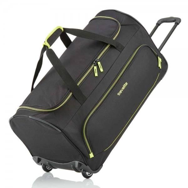 Travelite Basics Fresh Trolley Reisetasche 71 cm Schwarz