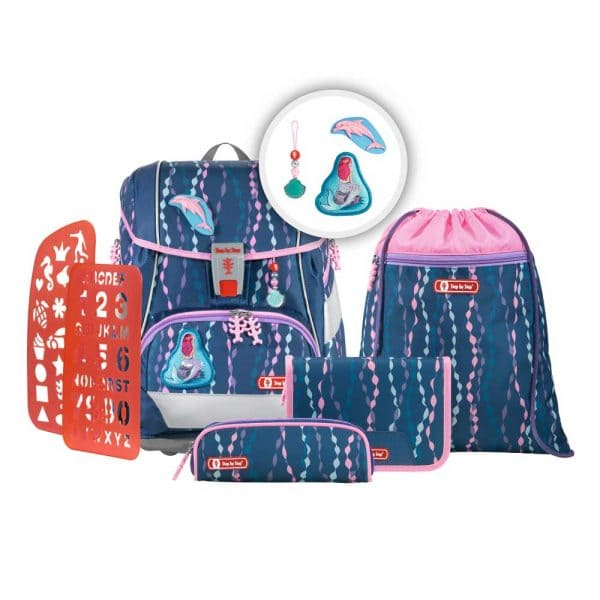 Step by Step 2in1 Plus Schulranzen-Set 6tlg Mermaid
