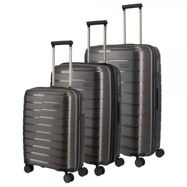 Travelite Air Base Trolley-Set 3tlg S-M-L Anthrazit