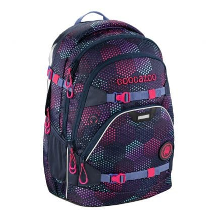 Coocazoo ScaleRale Schulrucksack-Set 3tlg. Purple Illusion 2