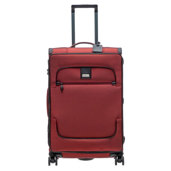 Stratic Bay 4-Rollen Trolley M 68 cm Rubyred