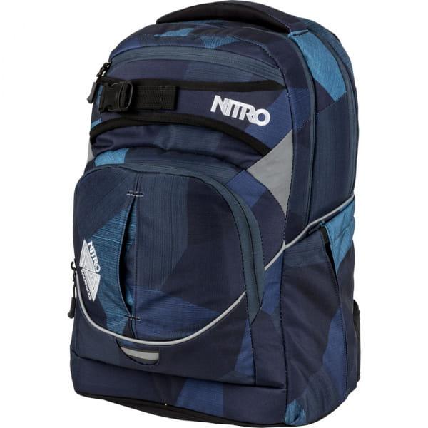 Nitro Superhero Rucksack Fragments Blue 1