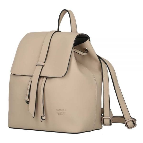 BARBARA & TITAN Pure Backpack Sand