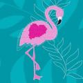 Glitter Flamingo