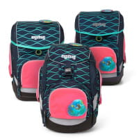 Ergobag Sicherheitsset mit LED Pink