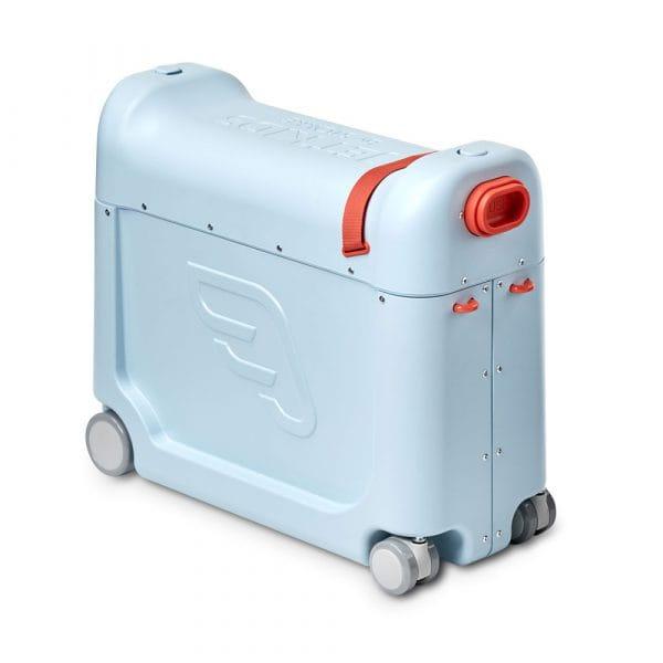 JetKids by Stokke BedBox Kinder-Aufsitzkoffer mit Bett Blue