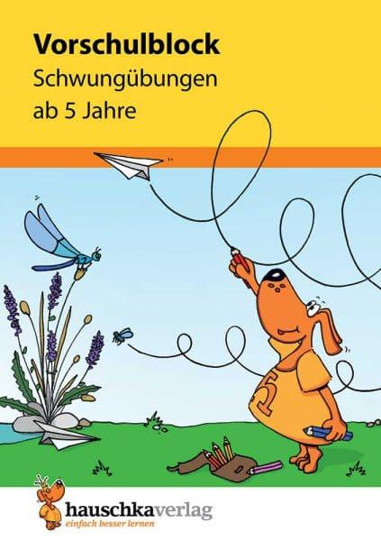 Hauschka Verlag 626 Vorschulblock - Schwungübungen