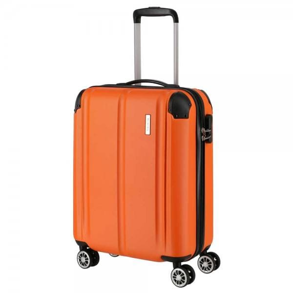 Travelite City 4-Rollen Trolley S 55 cm Orange