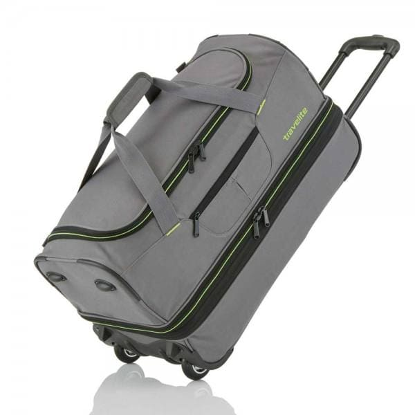Travelite Basics Trolley Reisetasche L 70 cm Grau